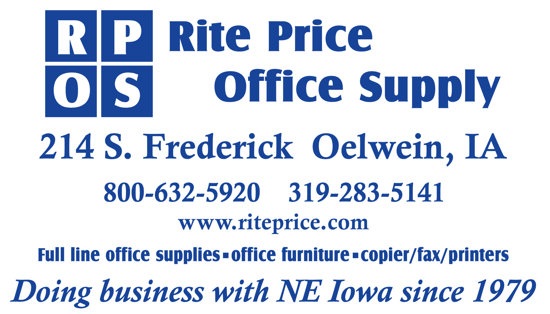 WEL E TO RITE PRICE OFFICE SUPPLY